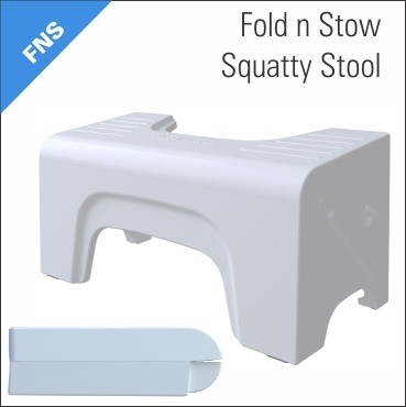 Squatty Potty Fold n Stow Foot Stool