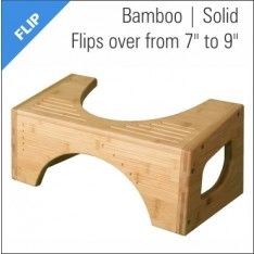 Squatty Potty Flip Bamboo Stool